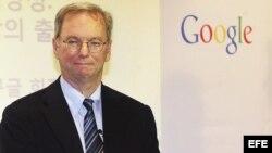 El presidente ejecutivo de Google, Erick Schmidt./ Foto de archivo