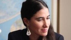Yoani Sánchez visita el Departamento de Estado de EE.UU.