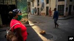 Vista de una calle de La Habana, el 31 de marzo del 2020.