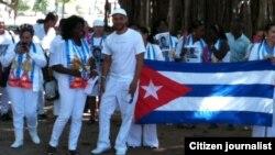 Damas de Blanco dedican marcha a todos los presos polítocos