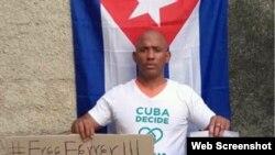 Maikel Herrera Bones. (Foto: CubaNet)