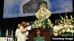 Celebraciones en Miami por el día de la Virgen de la Caridad. (Foto Alvaro Mata/Diario Las Américas)