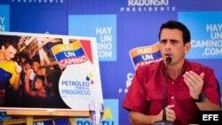Henrique Capriles pidió al presidente de Venezuela que no le mienta a su pueblo.