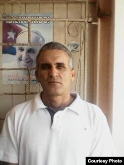 Dario Pérez, residente en Holguín, Cuba, sancionado por negarse a guardar luto a Fidel Castro. Cortesía del entrevistado.