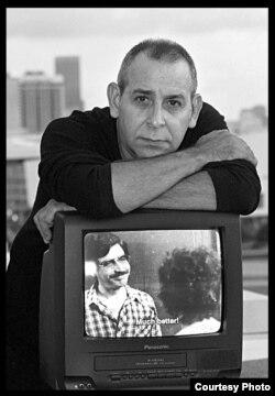 El director de cine cubano Orlando Rojas. Foto: Pedro Portal, cortesía.