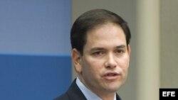 El senador republicano de Florida, Marco Rubio