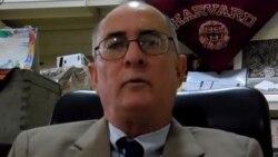 El abogado Roberto Jesús Quiñones Haces explica el proyecto de ley electoral cubano