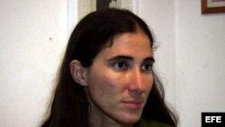 La bloguera cubana Yoani Sánchez.