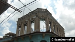 Reporta Cuba. Calle Trinidad y San Pedro en Santiago de Cuba. Foto: Ridel Brea.