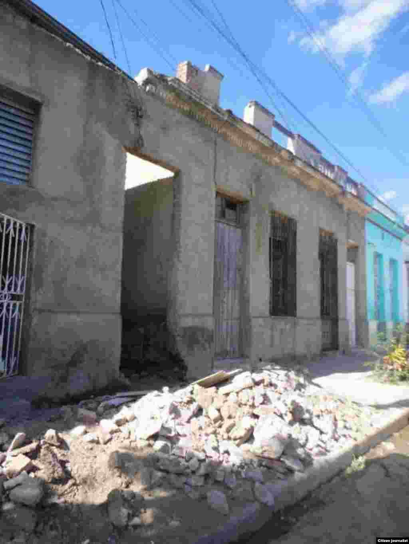 Reporta Cuba cuartería en Camagüey Foto Daneybis de la Celda