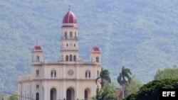 Iglesia del Cobre, santuario de la Virgen de la Caridad, en Santiago de Cuba.