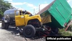 Accidente de dos camiones deja 32 heridos en el oeste de Cuba.