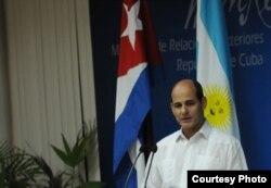 El vicecanciller cubano Rogelio Sierra.