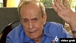 El excanciller cubano Ricardo Alarcón niega que haya existido persecusión religiosa en Cuba.