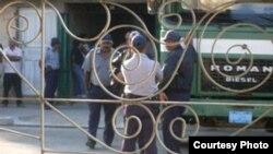 El operativo policial