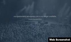 Parlamento Europeo dispuesto a encontrar los culpables de fraudulenta acción contra su sitio web.