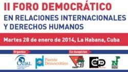 Checos apoyan foro opositor paralelo a la CELAC