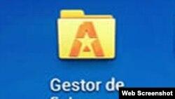 Gestor de ficheros Astro