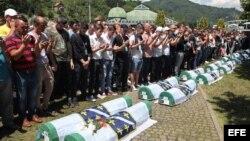 Vigesimo tercer aniversario de la matanza de Srebrenica