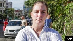 La artista cubana Tania Bruguera. (Foto archivo)