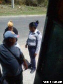 Reporta Cuba. Arresto a activistas en Pinar del Río. Foto: Yelky Puig.