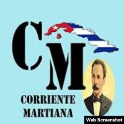 Logo de la Corriente Martiana de Cuba.