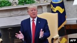 El presidente Donald Trump, la semana pasada en la Casa Blanca. Nicholas Kamm. (AFP).