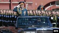 El ministro de Defensa ruso, Serguéi Shoigu. Archivo.