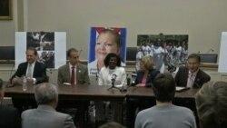 Berta Soler se reúne con congresistas y reafirma postura a favor del embargo a Cuba