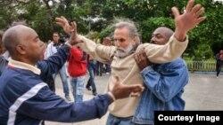 Represión en Cuba (Foto: Cubanet)