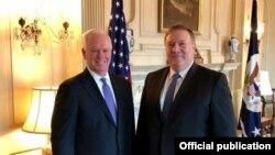 El Director Ejecutivo de USAGM, John Lansing, se reunió con el Secretario de Estado Michael Pompeo.