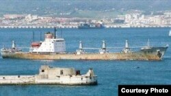 "El buque norcoreano ""Chong Chon Gang"", interceptado por Panamá con armas no declaradas a bordo."