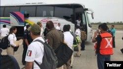 La deportación se realizó de acuerdo con las autoridades cubanas, informó el INM en Twitter.
