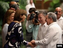 Juan Manuel Santos realiza una visita oficial a Cuba