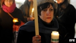 Protestan activistas cubanos ante la misión de Irán en Berlín