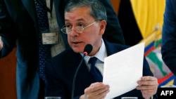 Santiago Chávez, presidente Foro Global de Migración y Desarrollo (FGMD)