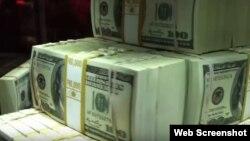 Millones de dólares en efectivo.