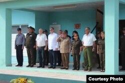 Centro de instrucción Ruso-cubano para bomberos.