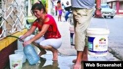 Avería en conductora Cuenca Sur de La Habana deja sin agua a cientos de miles de habaneros.