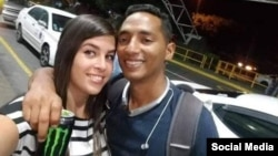 Pareja de cubanos asesinados en México. (Facebook: German Burgos Soberanis)