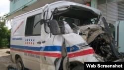Trágico accidente en Holguín.