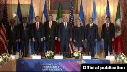 Conferencia sobre Prosperidad y Seguridad enCentroamérica.
