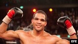 El boxeador cubano Yoan Pablo Hernández.