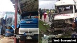 En 2018 en Cuba se registró un accidente de tránsito cada 47 minutos, para un promedio de un fallecido cada 12 horas, según fuentes oficiales. (Archivo).