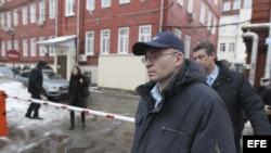 El médico Dimitri Krátov, acusado de la muerte en prisión preventiva del abogado ruso Serguéi Magnitski