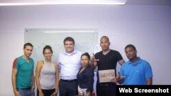 Jóvenes activistas cubanos visitan Perú y comparten sus impresiones en Contacto Cuba