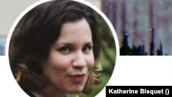 La autora Katherine Bisquet, integrante del Movimiento San Isidro y residente de La Habana.