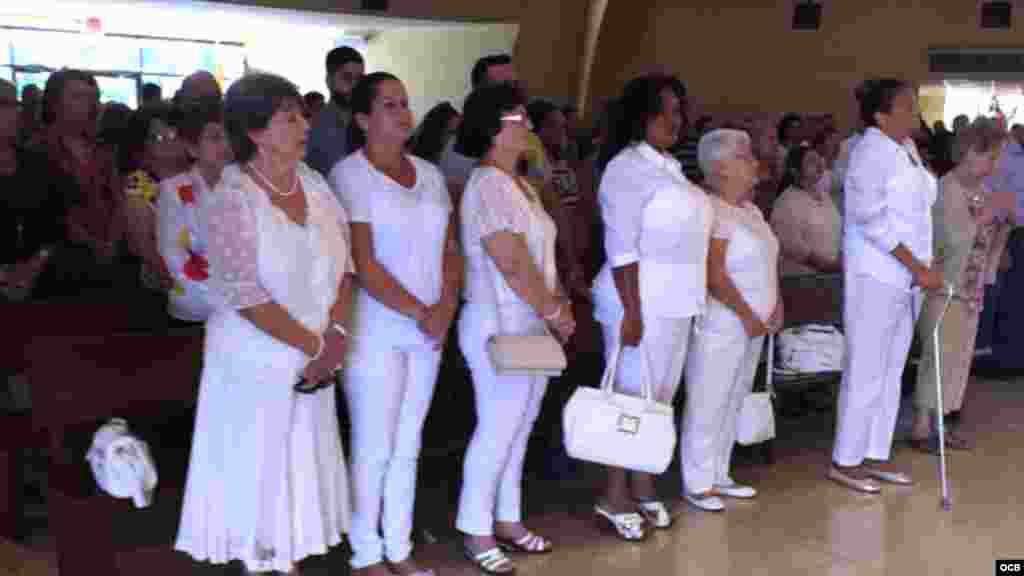 Damas de Blanco en el exilio