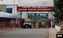 Centro Penitenciario de Centro Occidente, conocido como cárcel de Uribana, ubicado en el municipio Iribarren, del estado occidental Lara, a 336 kilómetros de Caracas.