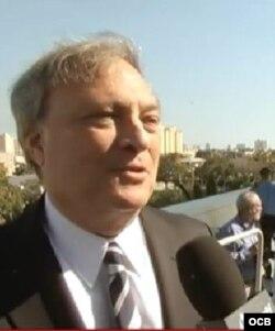 Jeffrey Loria, dueño del equipo Miami Marlins.